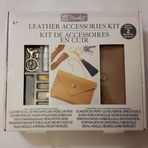 MAKE Market Leather Accessories Kit Makes 2 NIP